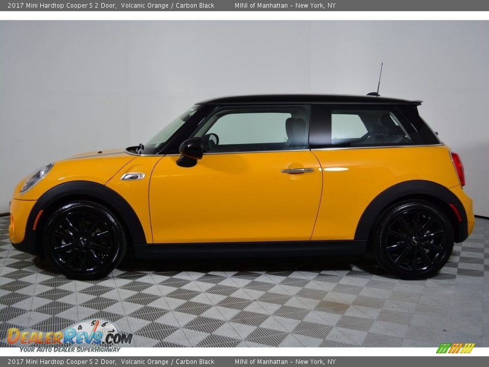 2017 Mini Hardtop Cooper S 2 Door Volcanic Orange / Carbon Black Photo #3