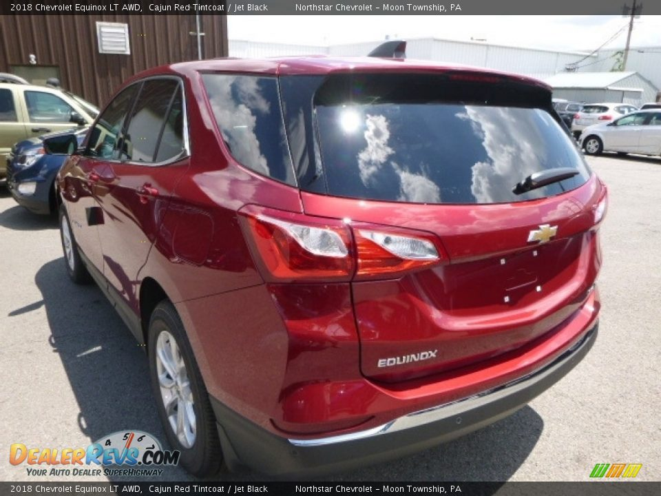 2018 Chevrolet Equinox LT AWD Cajun Red Tintcoat / Jet Black Photo #3
