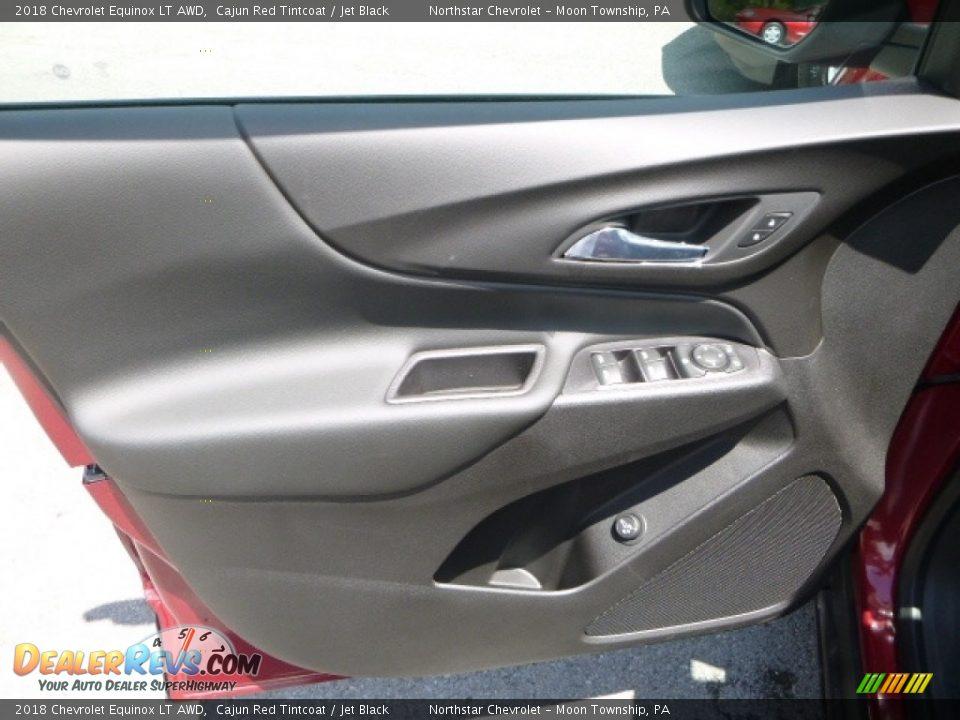 2018 Chevrolet Equinox LT AWD Cajun Red Tintcoat / Jet Black Photo #15