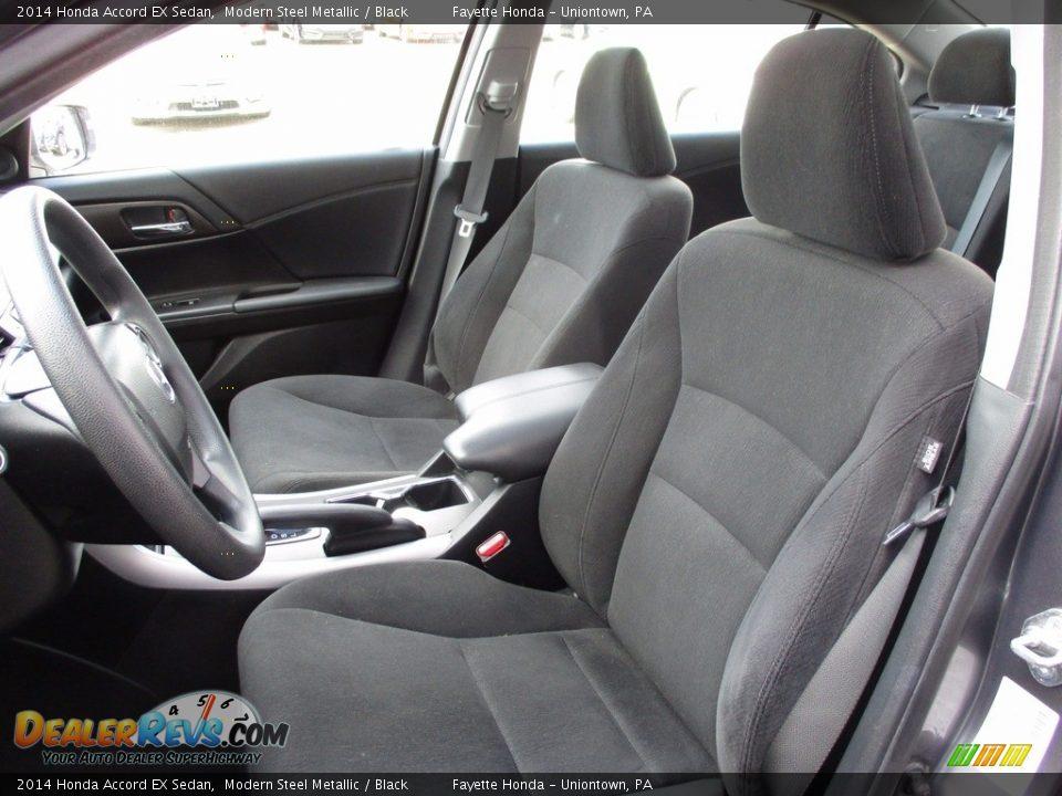 2014 Honda Accord EX Sedan Modern Steel Metallic / Black Photo #7