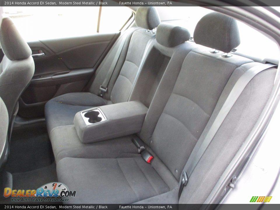 2014 Honda Accord EX Sedan Modern Steel Metallic / Black Photo #8