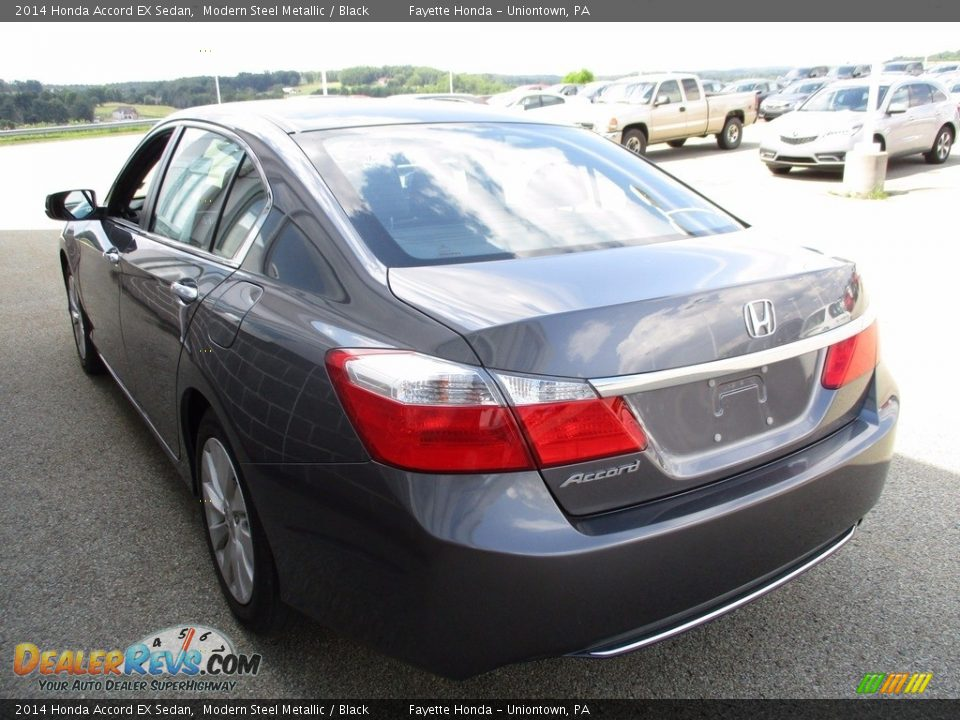 2014 Honda Accord EX Sedan Modern Steel Metallic / Black Photo #18