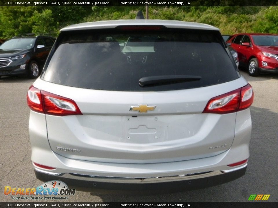 2018 Chevrolet Equinox LT AWD Silver Ice Metallic / Jet Black Photo #4
