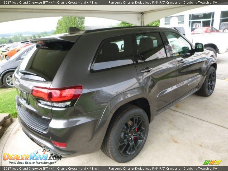 2017 Jeep Grand Cherokee SRT 4x4 Granite Crystal Metallic / Black Photo #5