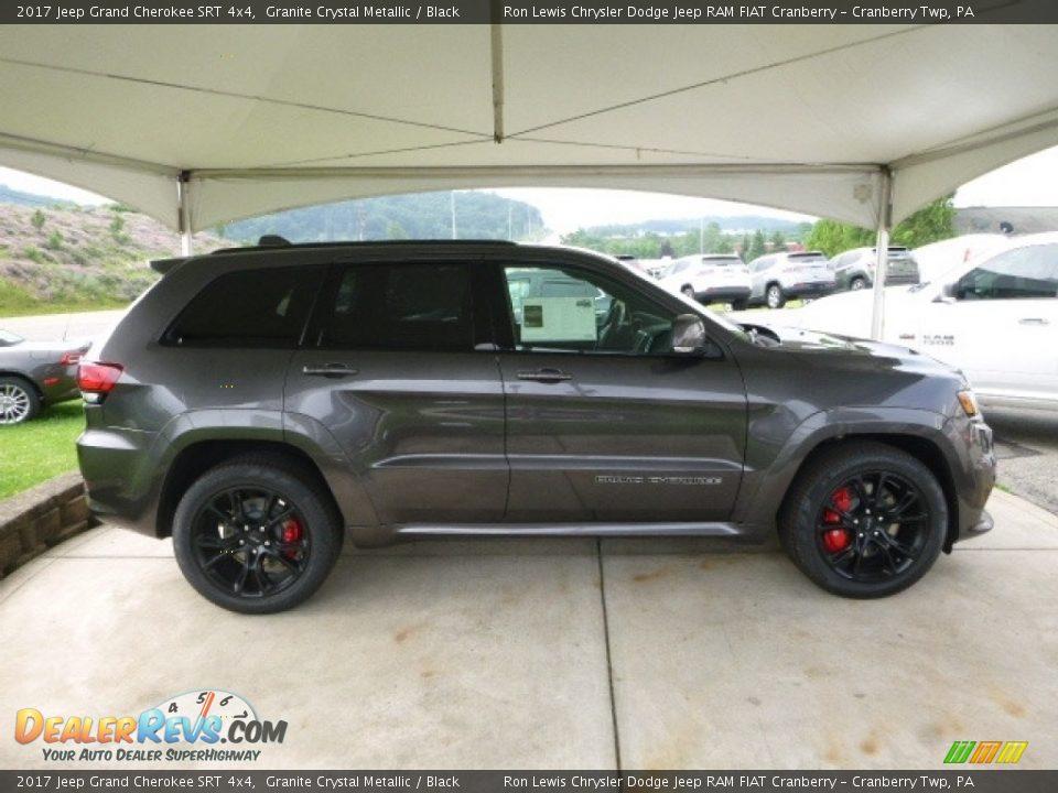 2017 Jeep Grand Cherokee SRT 4x4 Granite Crystal Metallic / Black Photo #6