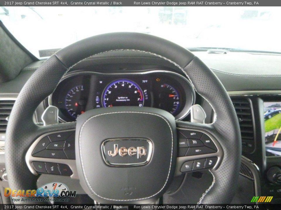 2017 Jeep Grand Cherokee SRT 4x4 Granite Crystal Metallic / Black Photo #20
