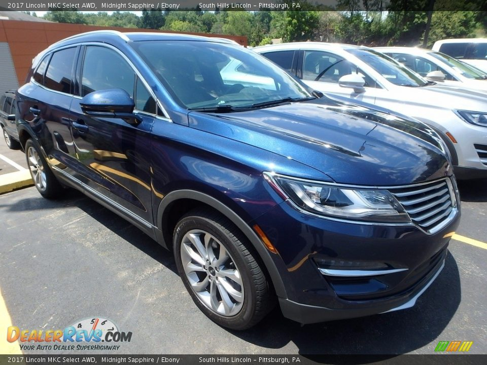 Front 3/4 View of 2017 Lincoln MKC Select AWD Photo #5