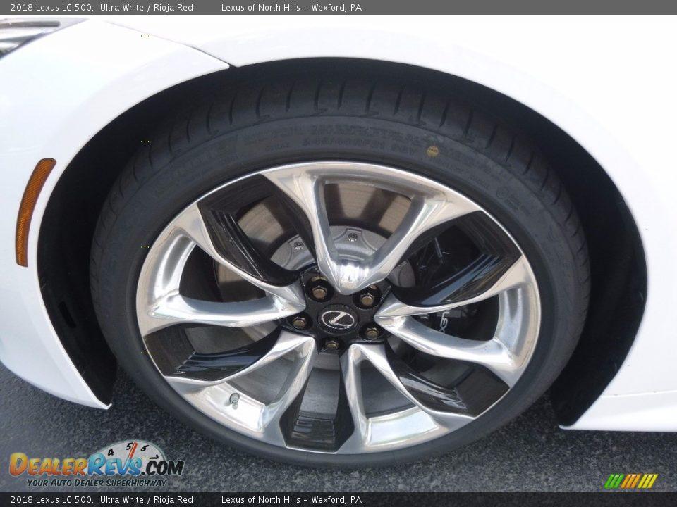 2018 Lexus LC 500 Wheel Photo #5