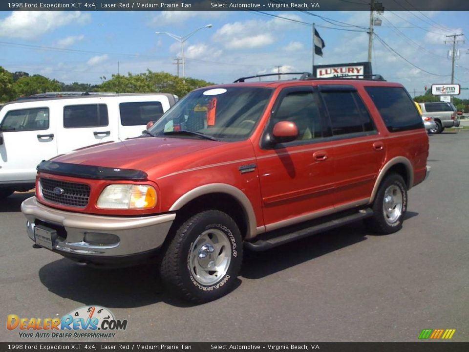 Ford Dealer Locator >> 1998 Ford Expedition XLT 4x4 Laser Red / Medium Prairie Tan Photo #1 | DealerRevs.com