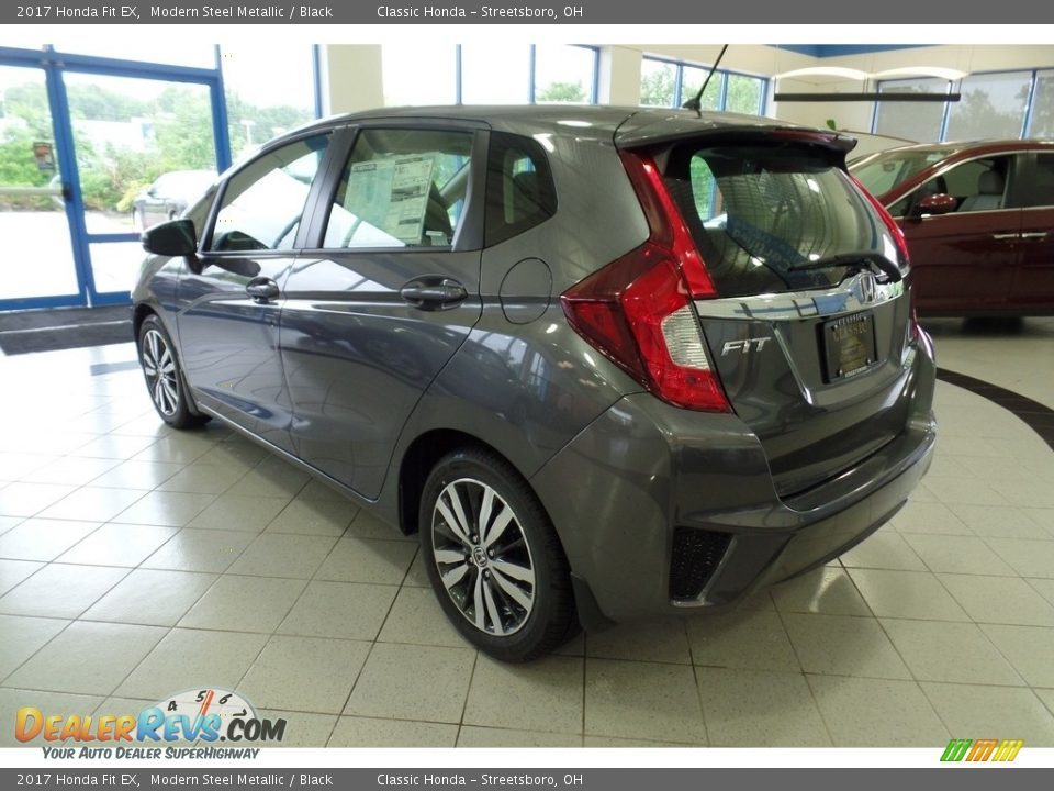 2017 Honda Fit EX Modern Steel Metallic / Black Photo #2