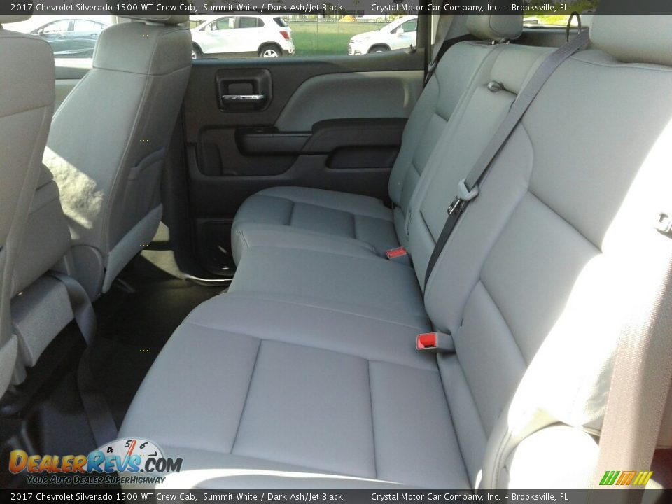 2017 Chevrolet Silverado 1500 WT Crew Cab Summit White / Dark Ash/Jet Black Photo #10