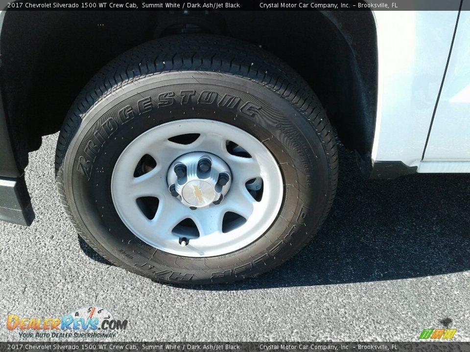 2017 Chevrolet Silverado 1500 WT Crew Cab Summit White / Dark Ash/Jet Black Photo #20
