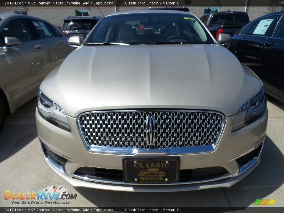2017 Lincoln MKZ Premier Palladium White Gold / Cappuccino Photo #2