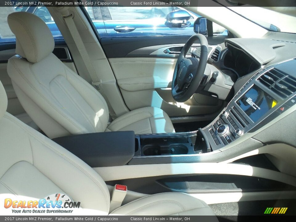 Front Seat of 2017 Lincoln MKZ Premier Photo #4