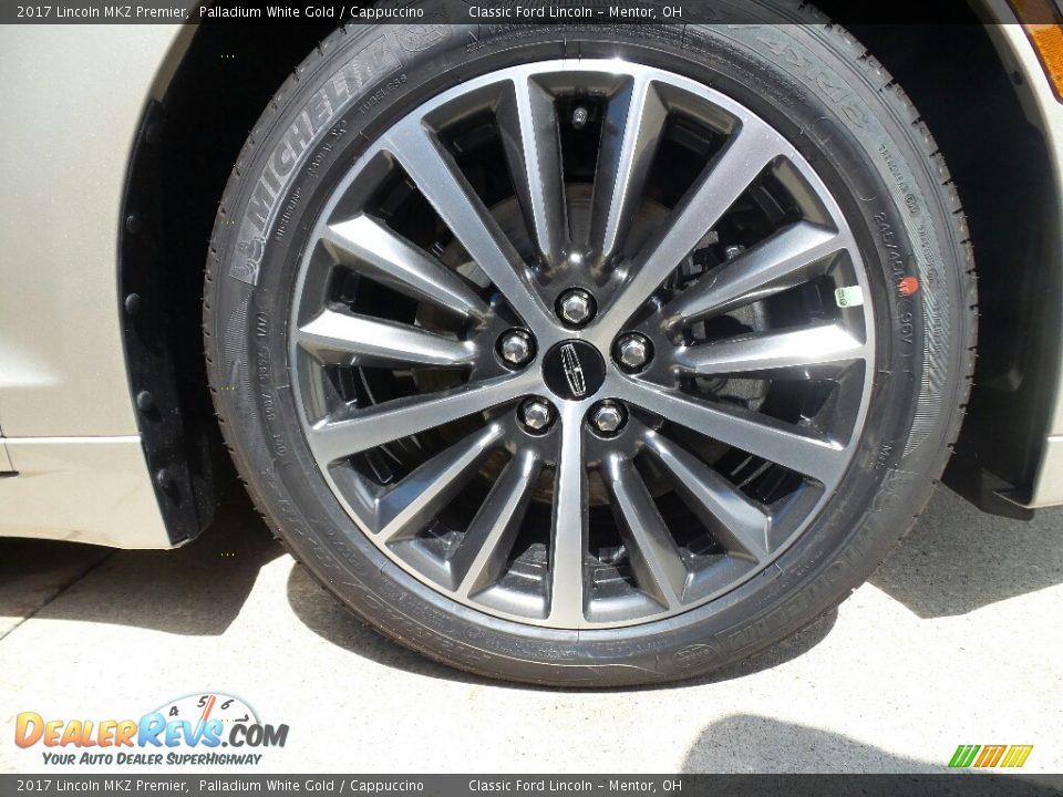2017 Lincoln MKZ Premier Wheel Photo #6