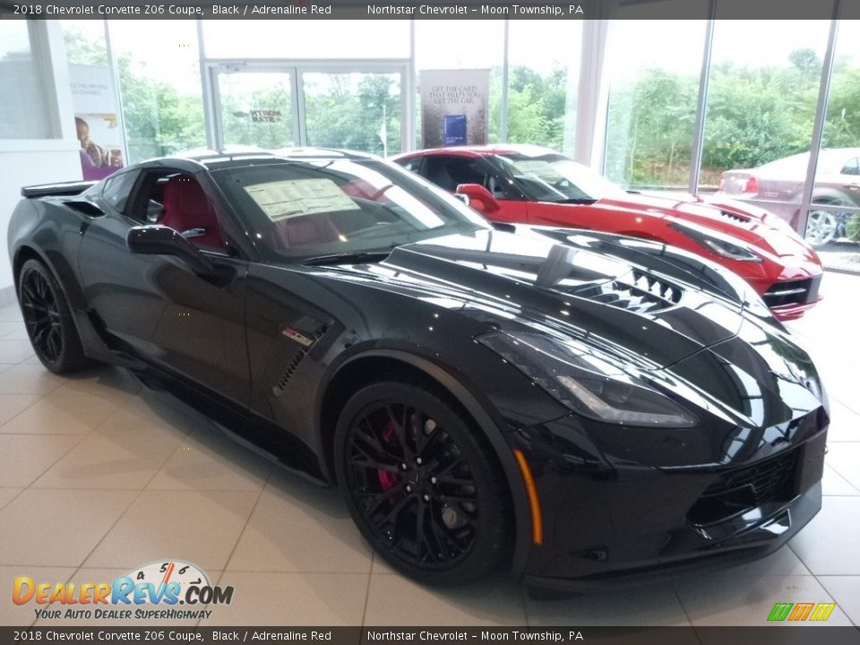 Black 2018 Chevrolet Corvette Z06 Coupe Photo #7