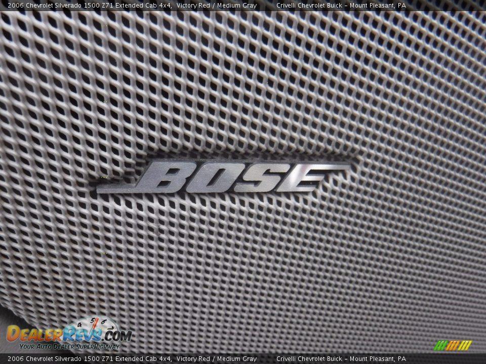 2006 Chevrolet Silverado 1500 Z71 Extended Cab 4x4 Victory Red / Medium Gray Photo #23