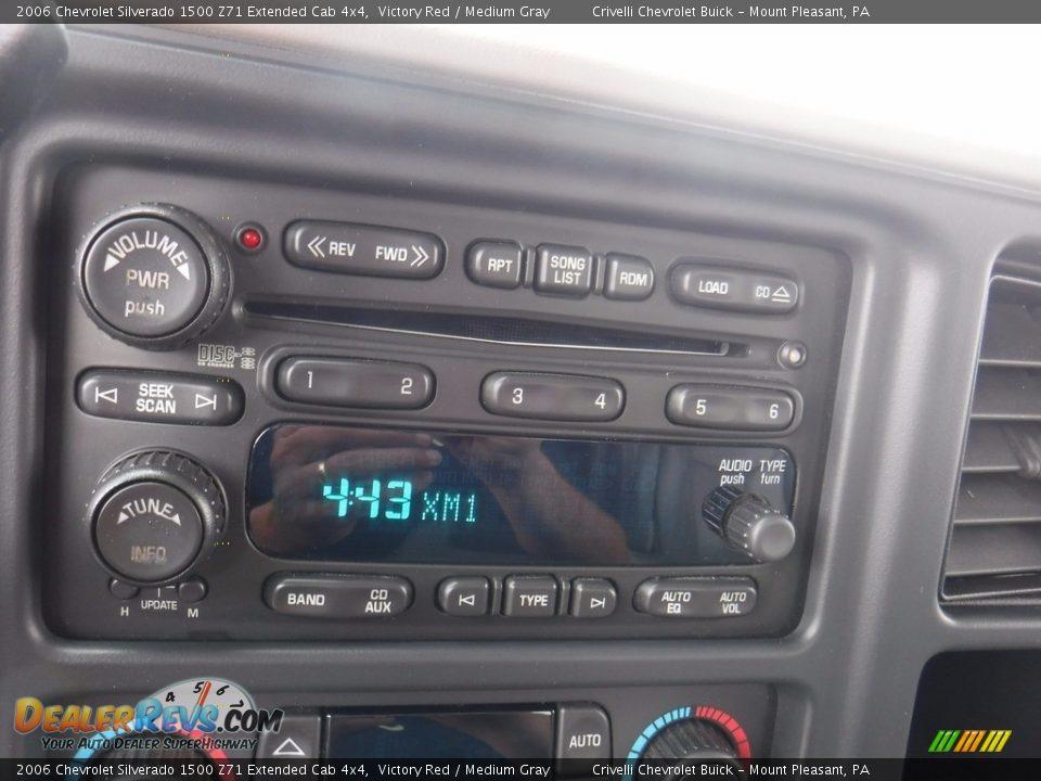 2006 Chevrolet Silverado 1500 Z71 Extended Cab 4x4 Victory Red / Medium Gray Photo #27