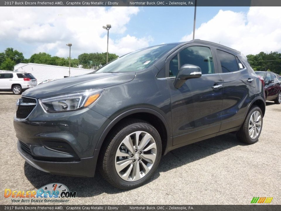 2017 Buick Encore Preferred AWD Graphite Gray Metallic / Ebony Photo #1