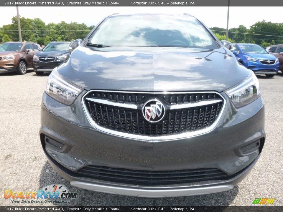 2017 Buick Encore Preferred AWD Graphite Gray Metallic / Ebony Photo #2
