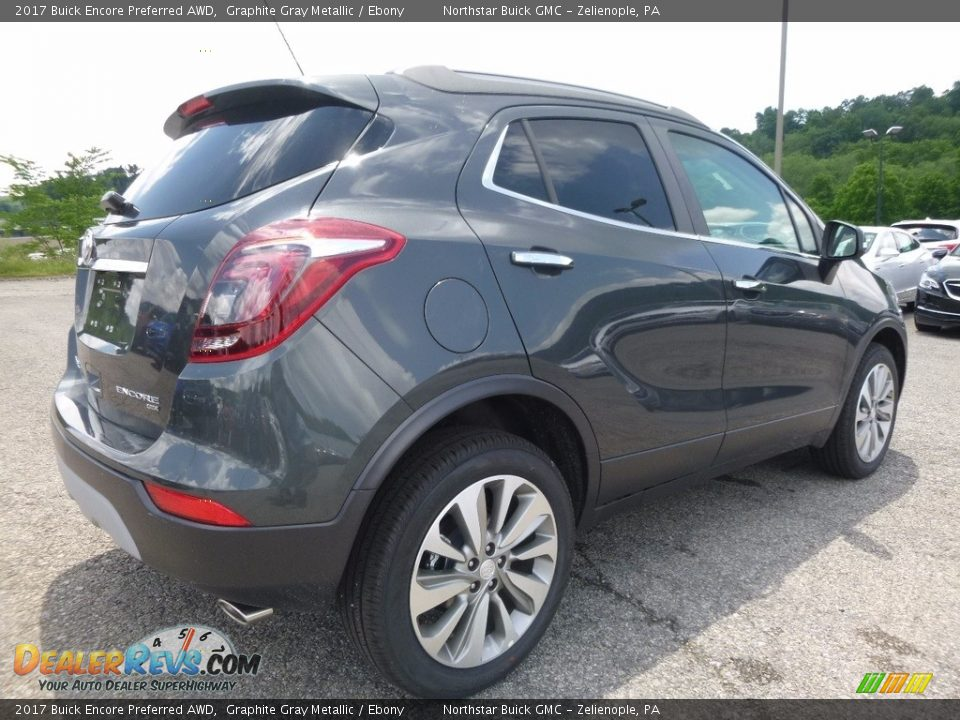 2017 Buick Encore Preferred AWD Graphite Gray Metallic / Ebony Photo #5