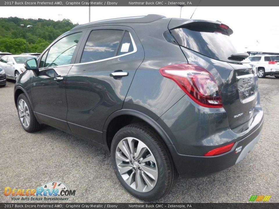 2017 Buick Encore Preferred AWD Graphite Gray Metallic / Ebony Photo #8
