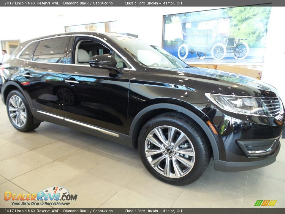 Front 3/4 View of 2017 Lincoln MKX Reserve AWD Photo #3
