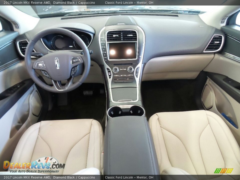 Dashboard of 2017 Lincoln MKX Reserve AWD Photo #7