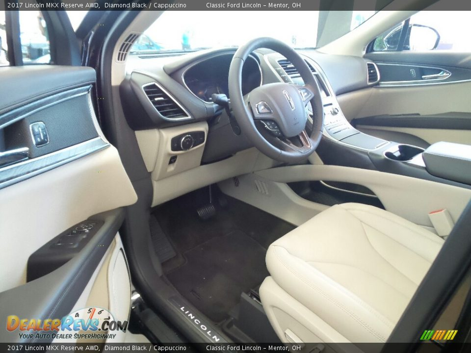 Front Seat of 2017 Lincoln MKX Reserve AWD Photo #8