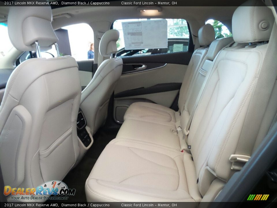 Rear Seat of 2017 Lincoln MKX Reserve AWD Photo #10