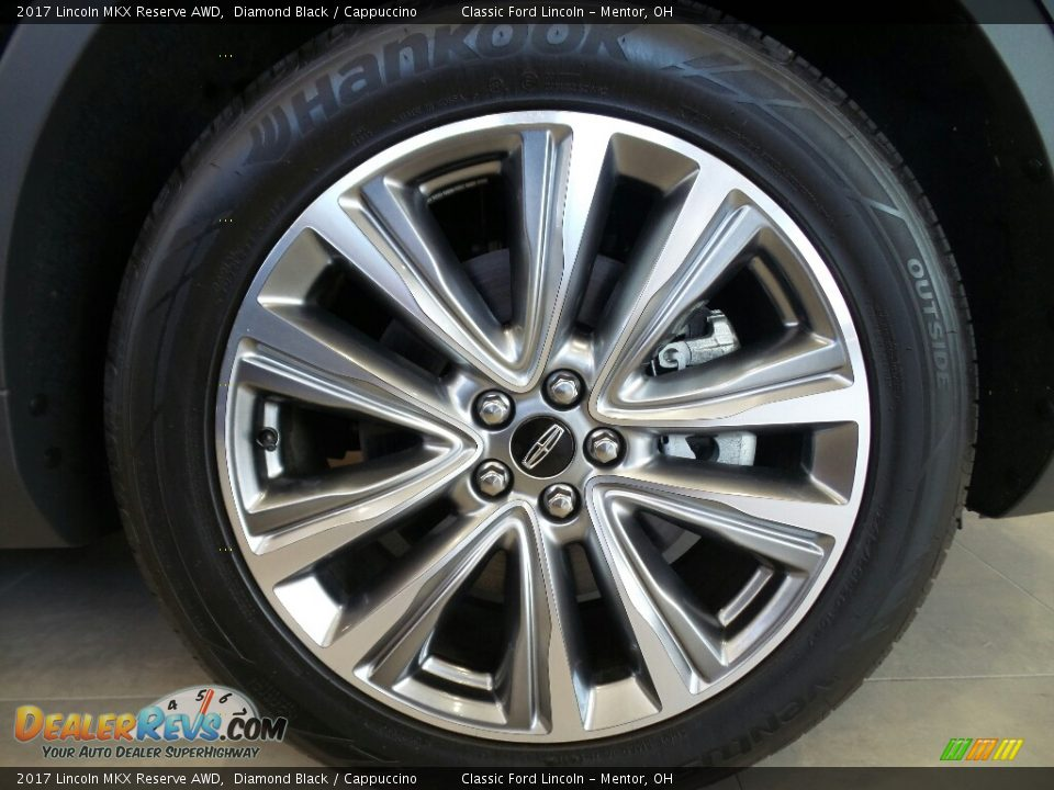 2017 Lincoln MKX Reserve AWD Wheel Photo #11