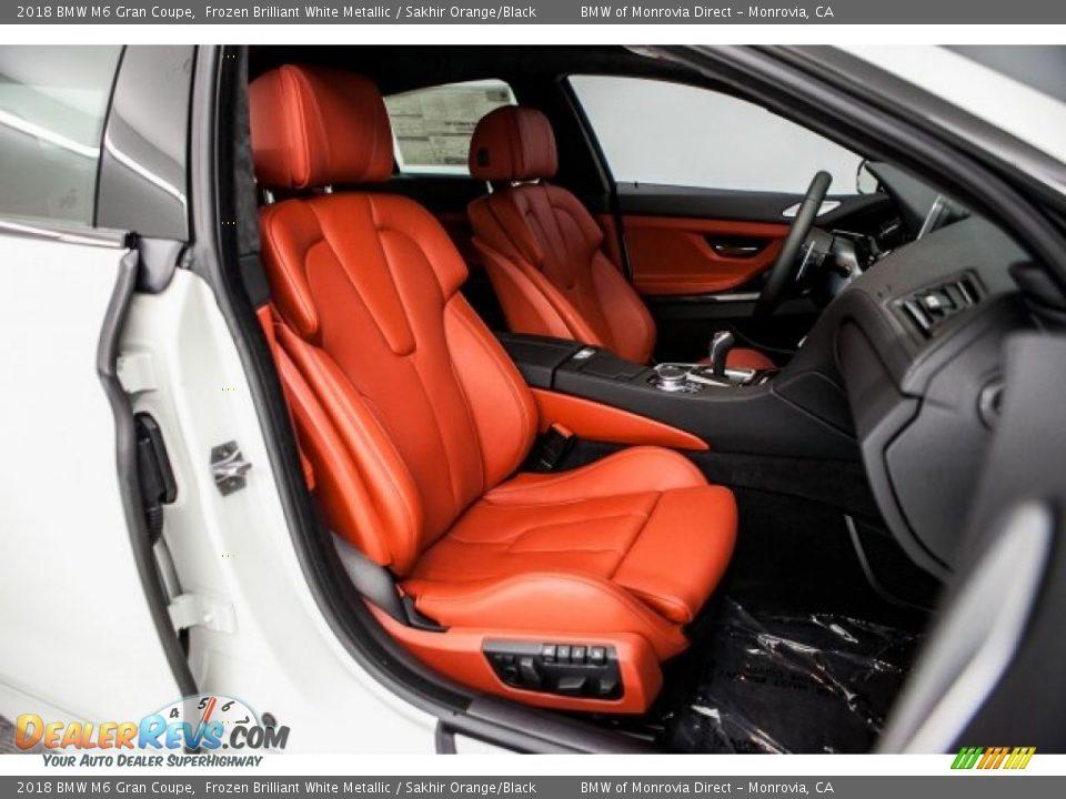 Sakhir Orange/Black Interior - 2018 BMW M6 Gran Coupe Photo #2