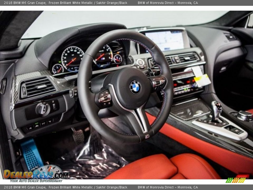 Dashboard of 2018 BMW M6 Gran Coupe Photo #5