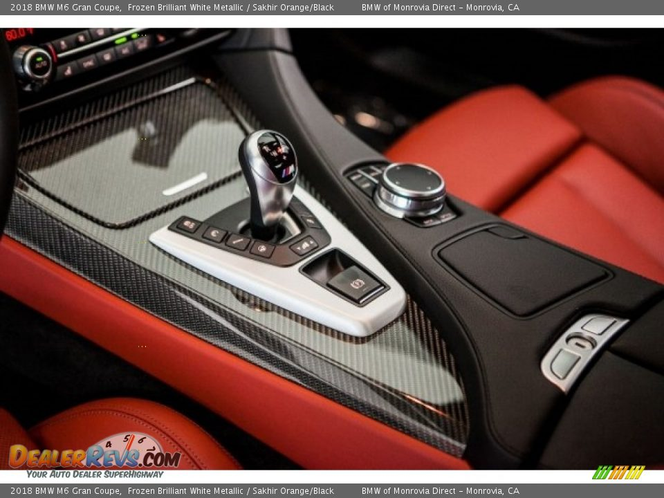 2018 BMW M6 Gran Coupe Shifter Photo #7