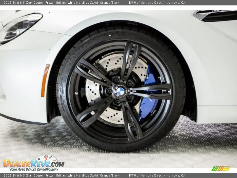 2018 BMW M6 Gran Coupe Wheel Photo #9