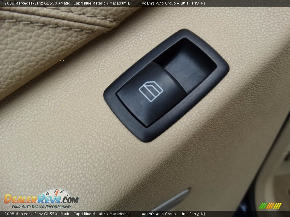 2008 Mercedes-Benz GL 550 4Matic Capri Blue Metallic / Macadamia Photo #21