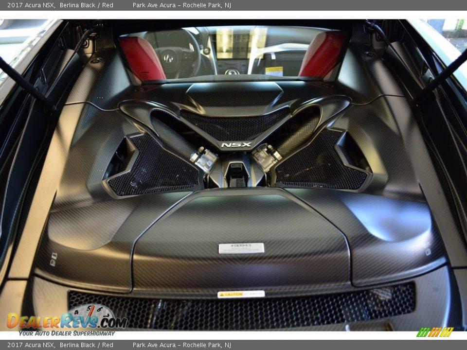 2017 Acura NSX  3.5 Liter Twin-Turbocharged DOHC 24-Valve VTC V6 Gasoline/Electric Hybrid Engine Photo #23