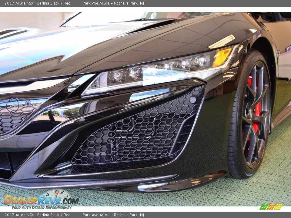 2017 Acura NSX Berlina Black / Red Photo #32