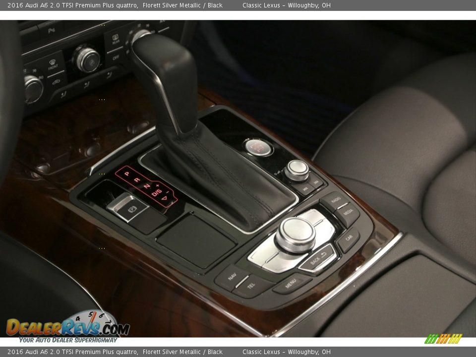 2016 Audi A6 2.0 TFSI Premium Plus quattro Florett Silver Metallic / Black Photo #7