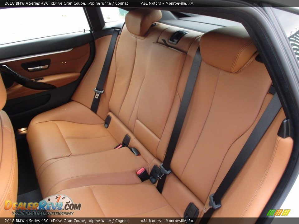 Rear Seat of 2018 BMW 4 Series 430i xDrive Gran Coupe Photo #11