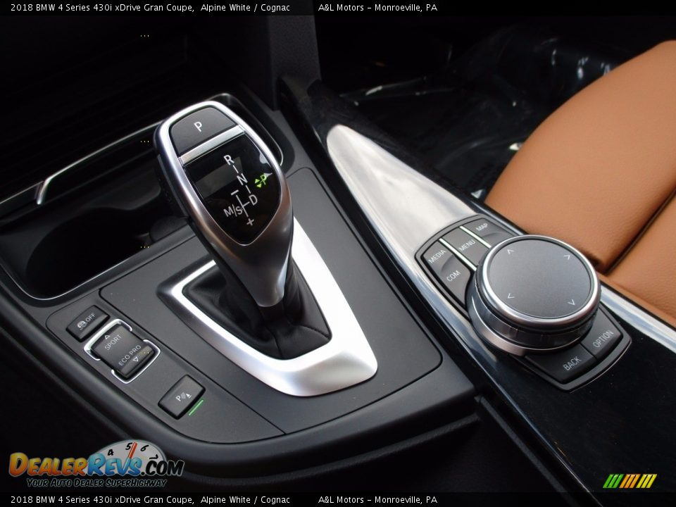 2018 BMW 4 Series 430i xDrive Gran Coupe Shifter Photo #14