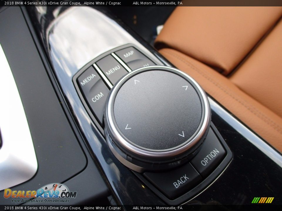 Controls of 2018 BMW 4 Series 430i xDrive Gran Coupe Photo #17