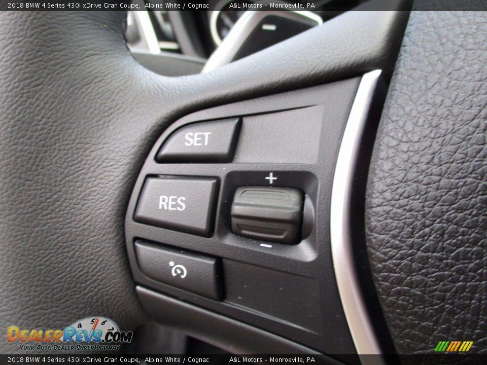 Controls of 2018 BMW 4 Series 430i xDrive Gran Coupe Photo #18