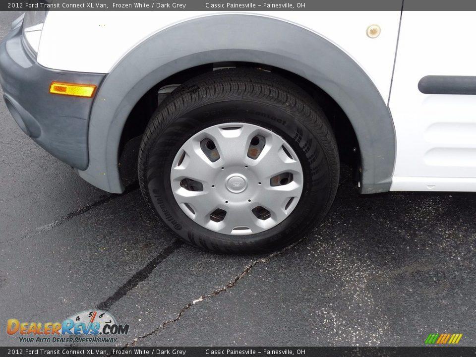 2012 Ford Transit Connect XL Van Frozen White / Dark Grey Photo #5