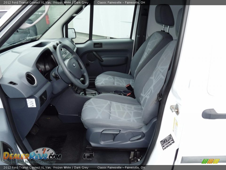 2012 Ford Transit Connect XL Van Frozen White / Dark Grey Photo #7