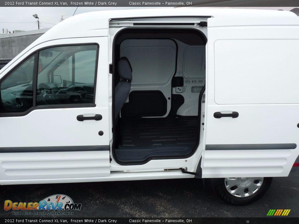 2012 Ford Transit Connect XL Van Frozen White / Dark Grey Photo #8