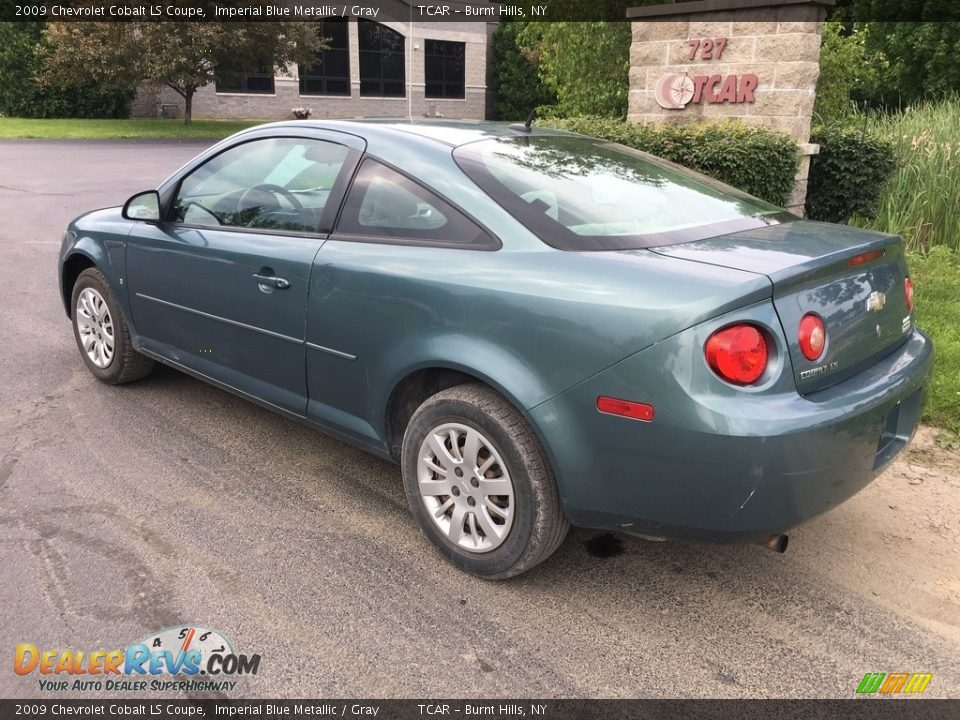 2009 Chevrolet Cobalt LS Coupe Imperial Blue Metallic / Gray Photo #6