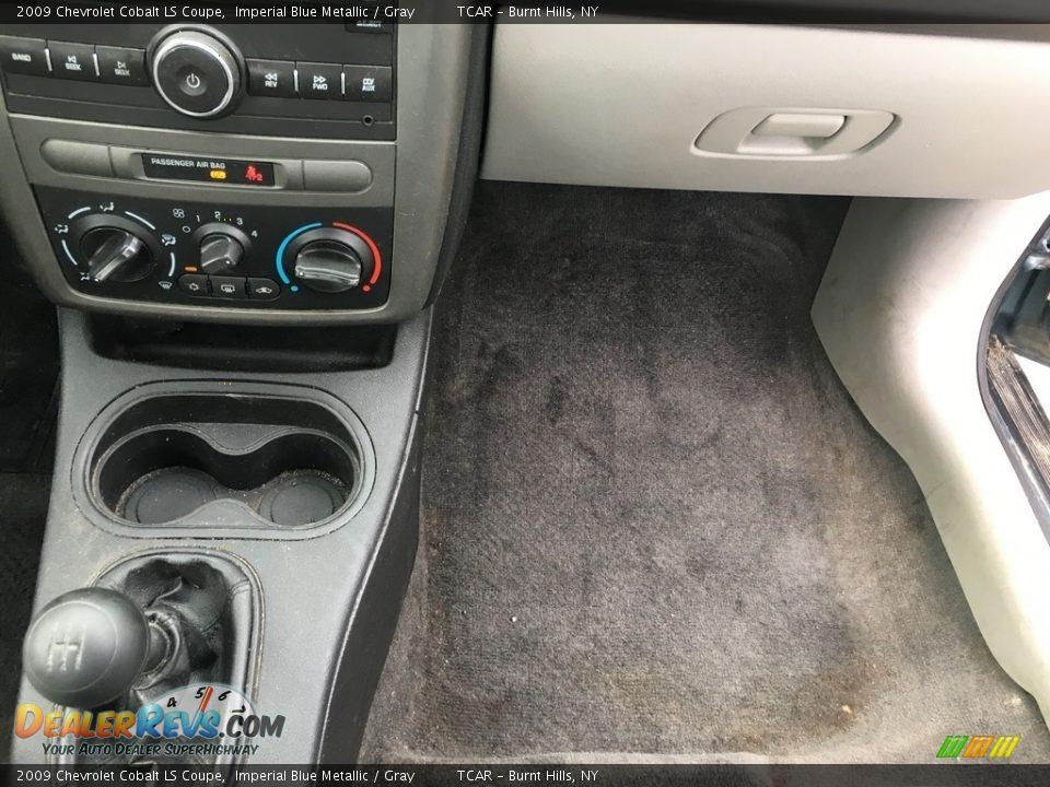 2009 Chevrolet Cobalt LS Coupe Imperial Blue Metallic / Gray Photo #10