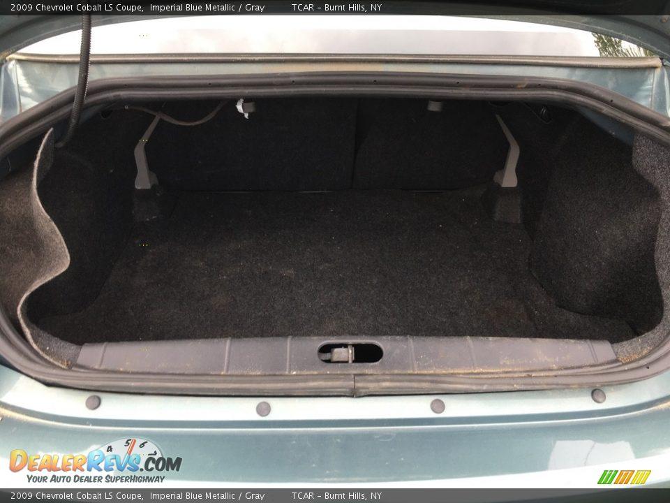 2009 Chevrolet Cobalt LS Coupe Imperial Blue Metallic / Gray Photo #11
