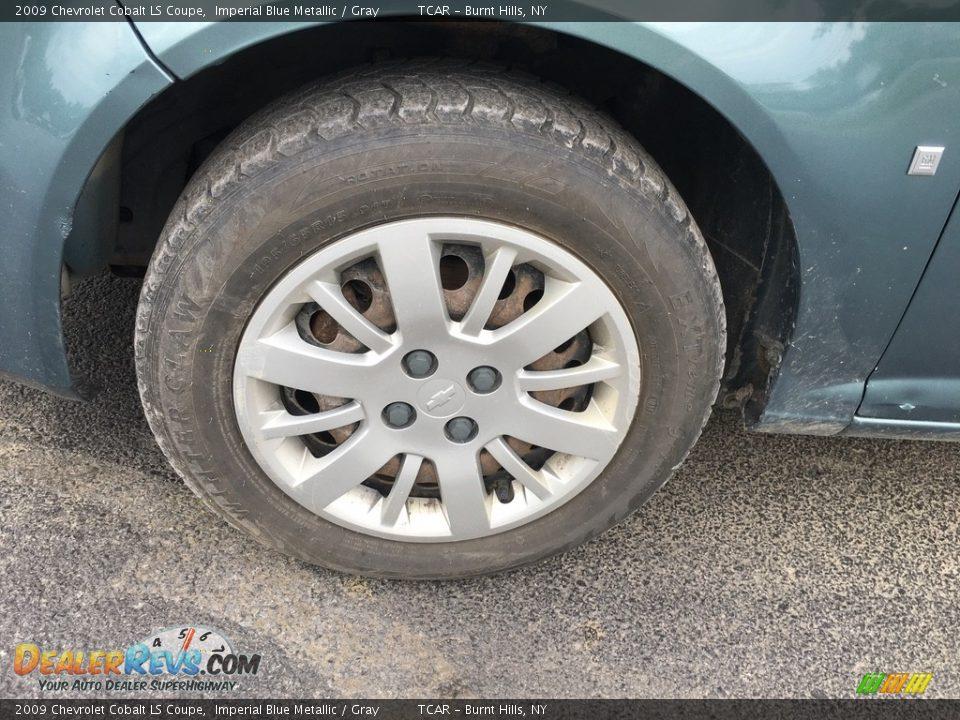 2009 Chevrolet Cobalt LS Coupe Imperial Blue Metallic / Gray Photo #13